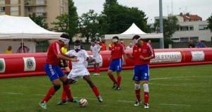 Selección Fútbol Sala Ciegos. Fuente: AD