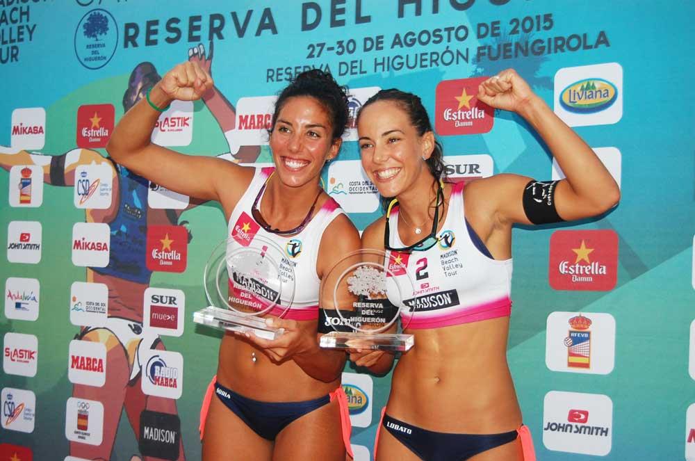 Paula Soria y Ángela Lobato. Fuente: LPT/Avance Deportivo