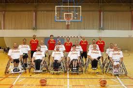 La selección española de baloncesto en silla de ruedas. Fuente: AD.
