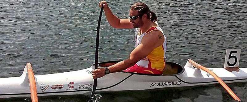 Javier Reja se clasifica para los Juegos Paralímpicos de Río en VL2 200 metros. Fuente: Rfep.