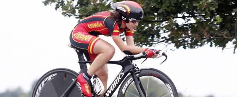 Lourdes Oyarbide será una de las componentes de la selección española en Beasáin. Fuente: Bart Hazen.