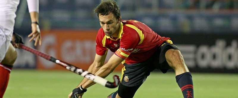 Mane Terraza durante un partido de la selección española. Fuente: AD.
