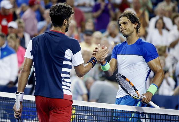 Rafa Nadal y Feliciano López. Fuente: ATP