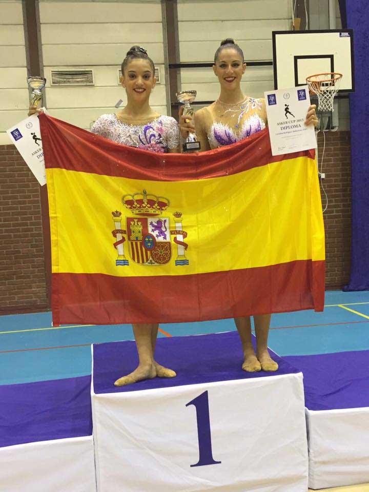 Sara Illana y Carolina Rodríguez. Fuente: AD