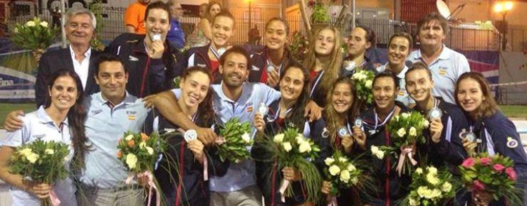 Selección española femenina de waterpolo júnior. Fuente: Rfen