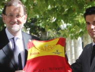 Rajoy recibe al marchador Miguel Ángel López