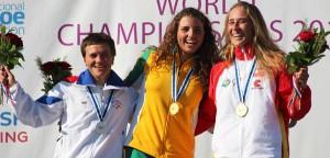 Nuria Villarrubla se ha colgado el bronce en C-1. Fuente: Rfep.