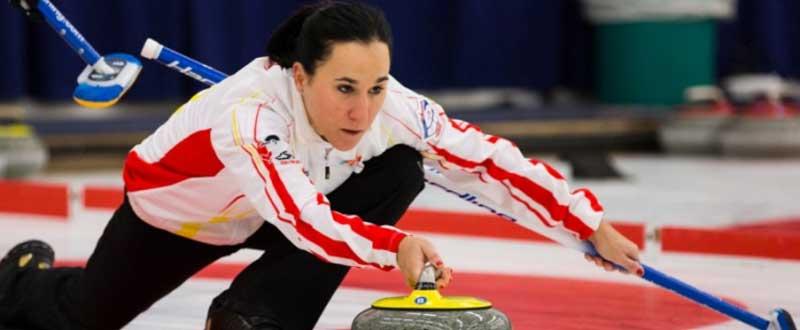La selección española ha terminado 24ª en el primer Mundial mixto de curling. Fuente: