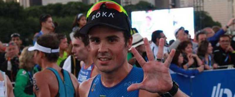 Javier Gómez Noya se ha proclamado por 5ª vez campeón mundial. Fuente: Twitter.
