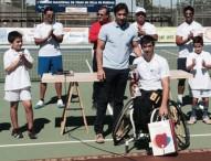 Roberto Chamizo logra el Abierto de Tenis en Silla de Ruedas Tablas de Daimiel