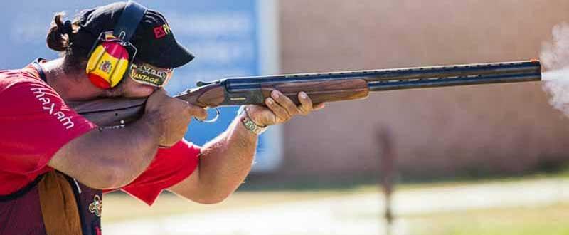 Alberto Fernández ha sido 4º en el Mundial de tiro. Fuente: AD.