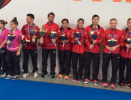 El equipo femenino, campeón de la Challenge División