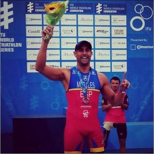 Lionel Morales ha sido 2º en Canadá. Fuente: Lionel Morales.