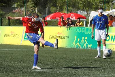 Niño en un partido ante Brasil. Fuente: Álex Molina