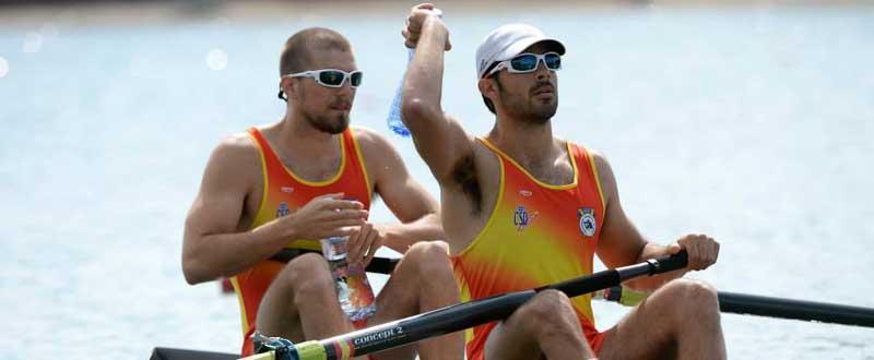 Pau Vela y Álex Sigurbjornsson han conseguido la clasificación olímpica. Fuente: AD.
