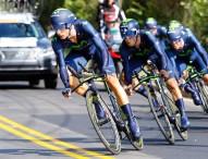 Bronce para el Movistar en la crono por equipos del Mundial de ciclismo