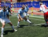 Este sábado se celebra la Supercopa de fútbol sala para ciegos