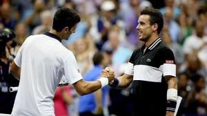 Bautista cae ante Djokovic jugando a un nivel muy alto. Imágenes: AD