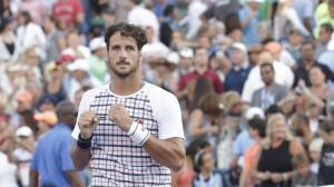 Feliciano López consigue pasar a cuartos de final del US Open. Imágenes: AD