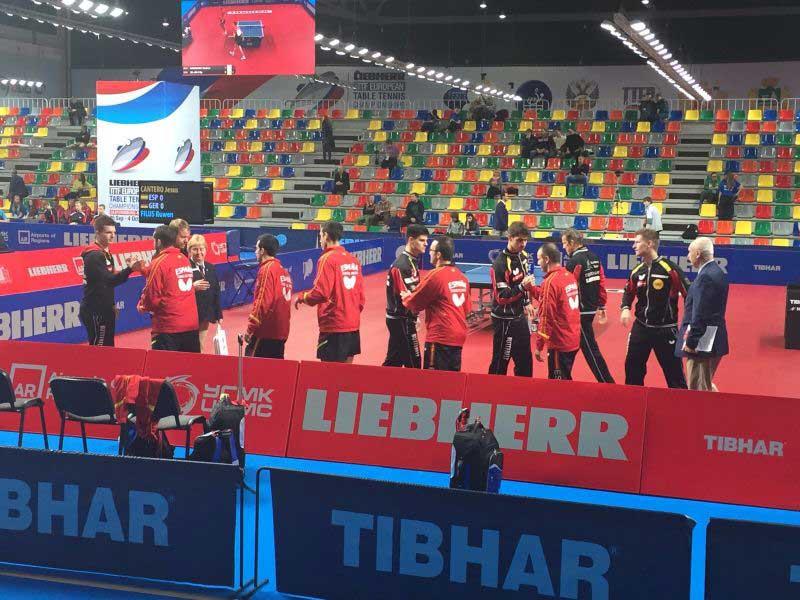 Equipo español masculino. Fuente: Rfetm