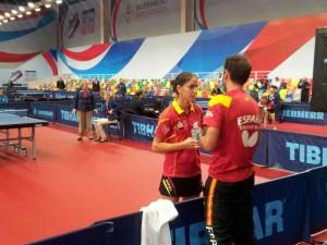 Equipo español femenino. Fuente: Rfetm