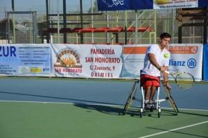 Roberto Chamizo, el ganador del torneo. Fuente: La Comarca de Puertollano.
