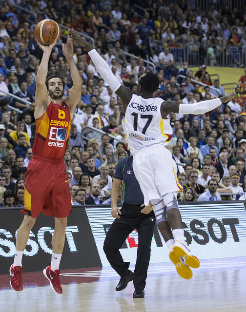 España-Alemania. Fuente: Feb