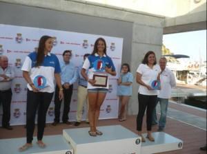Irene Sánchez ha vencido en categoría femenina de Europe y en sub 19. Fuente: CV Blanes.