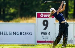 Marta Sanz. Fuente: Ladies European Golf.
