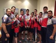 3 oros para el taekwondo español en Israel