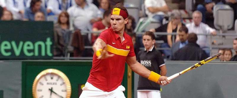 España buscará en 2016 ascender al Grupo Mundial de la Copa Davis. Fuente: AD.