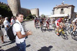 Carlos Sastre, ganador del Tour 2008. Imágenes: www.lavuelta.com