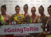 El conjunto español de gimnasia rítmica se cuelga la medalla de bronce en Stuttgart