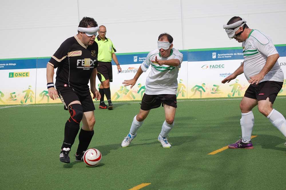 Málaga y Madrid juegan la Supercopa 2015 de Fútbol Sala Ciegos. Fuente: LPT/Avance Deportivo