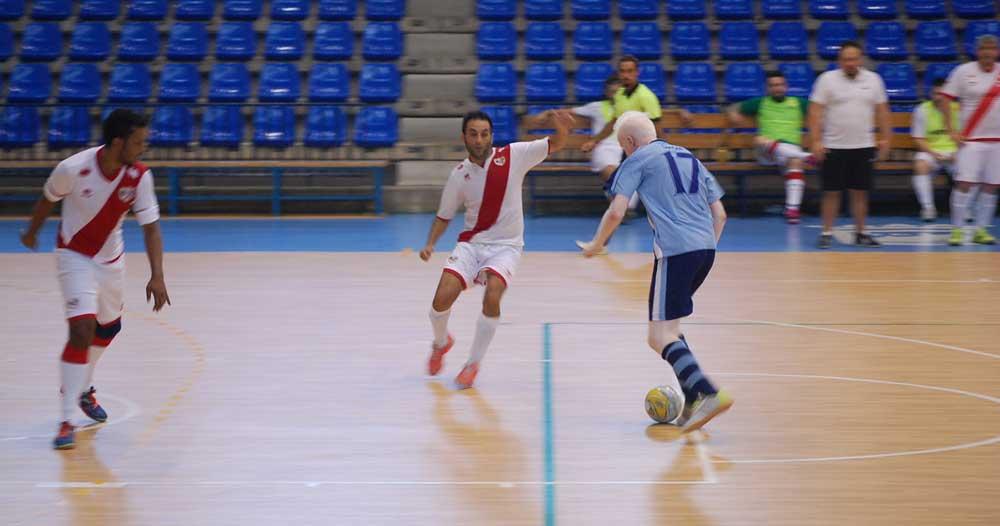 Málaga y Madrid en la Supercopa 2015 de Fútbol Sala B2. Fuente: LPT/Avance Deportivo