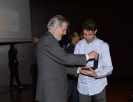 Abderrahman Ait recoge su medalla de oro al mérito deportivo