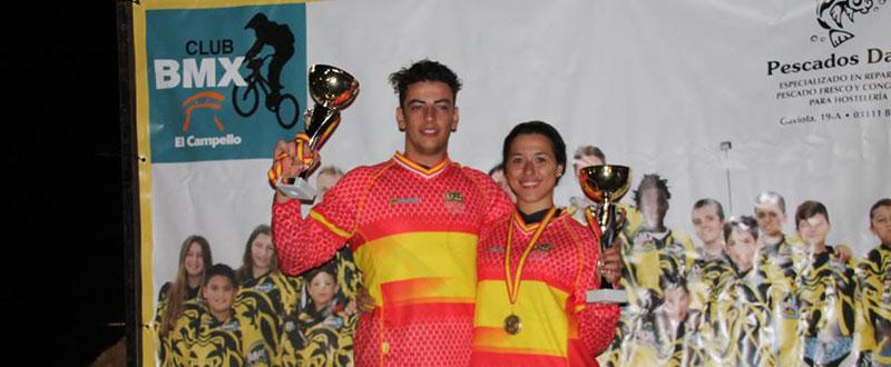 Alejandro Alcojor y Verónica García. Fuente: ciclo21.com/Francisco Calvo