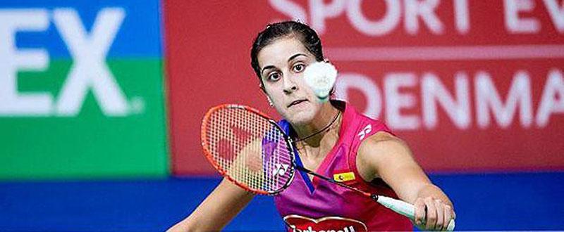 Carolina Marín. Fuente: badminton.es