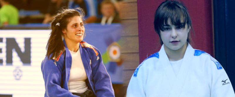 Sara Rodríguez y Tecla Cadilla. Fuente: AD