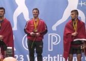 Josue Brachi, 2 oros y 1 plata en el europeo sub-23
