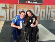 Luis Miguel Pita y Loida Zabala ganan la I Copa de España de halterofilia adaptada