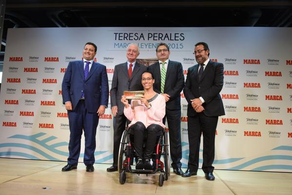 Teresa Perales. Fuente: CPE