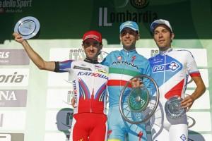 Dani Moreno ha sido 2º en el Giro de Lombardía. Fuente: