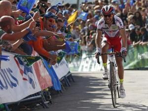 Joaquim Rodríguez es baja en Lombardía. Fuente: EFE.