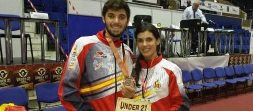 Eduardo y Tania. Fuente: AD