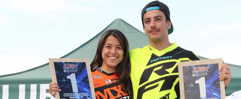 Verónica García y Alejandro Alcojor. Fuente: Rfec