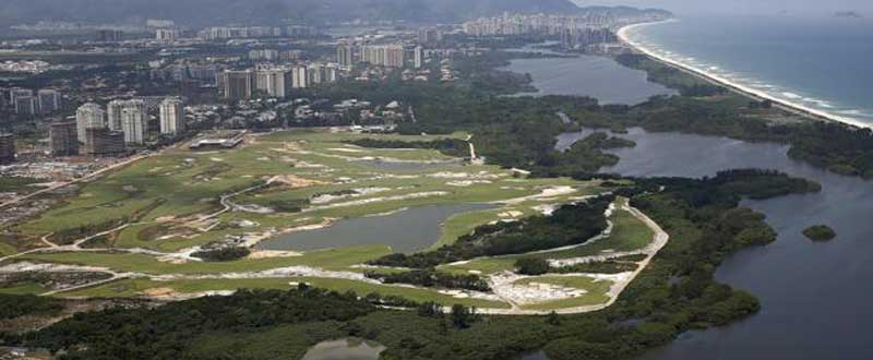 El campo de golf de Río de Janeiro. Fuente: MARCELO SAYÃO/EFE