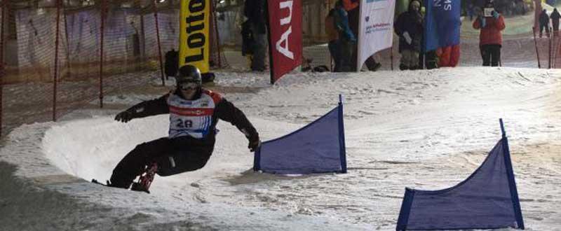 Snowboard adaptado. Fuente: dxtadaptado.com