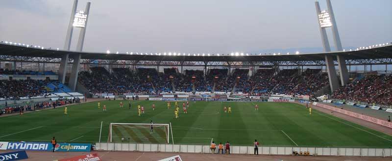 Estadio del Mediterráneo. Fuente: AD