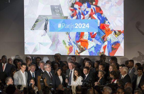 Candidatura París 2024. Fuente: EFE